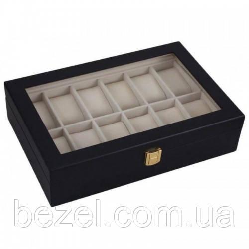 Шкатулка для хранения часов Craft 12WB.MAT.BL