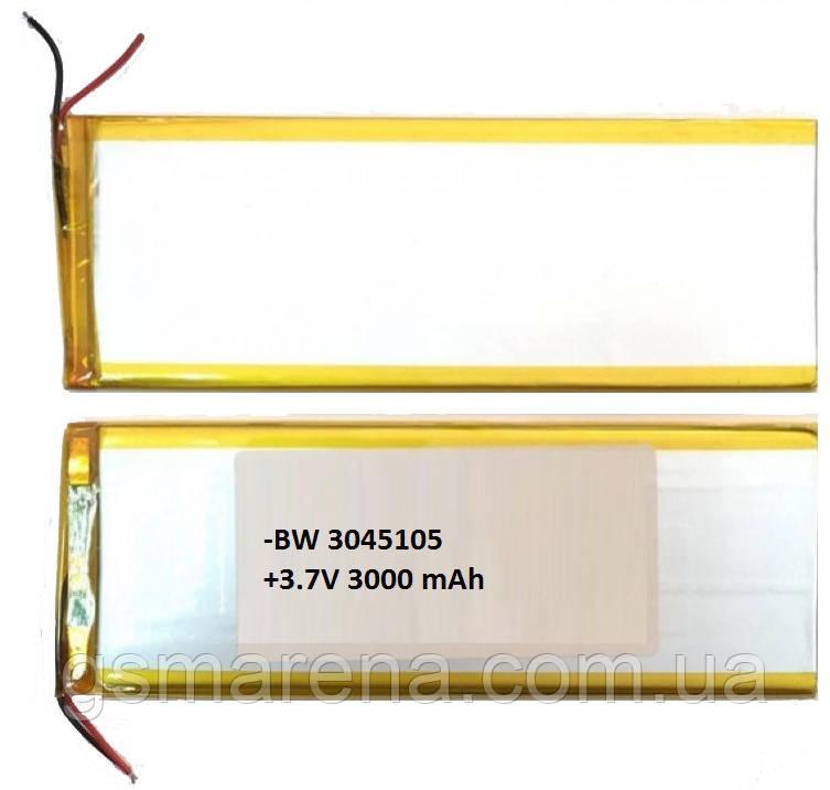 Аккумулятор универсальный 3040105P 4.0x10.05cm 3.7v 3000mAh