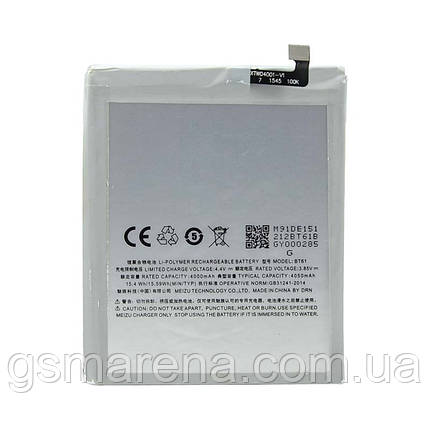 Аккумулятор Meizu M1 Note (BT42), фото 2