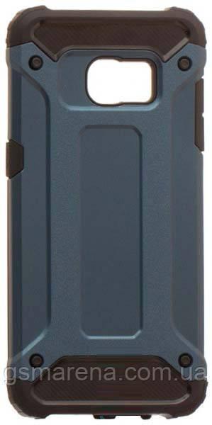 Чехол накладка Motomo X5 Samsung S7 Edge G935 Синий