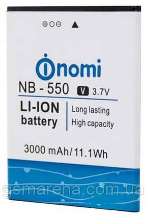 Аккумулятор Nomi NB-550 i550 Space 3000mAh Оригинал, фото 2