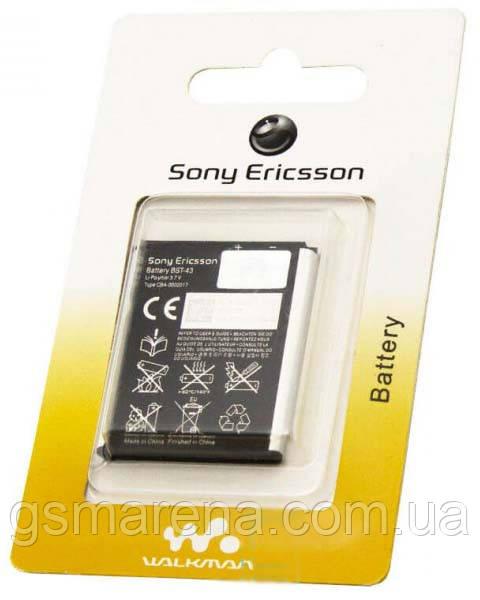 Аккумулятор Sony BST-43 1000mAh CK15i, J10i, J108 Cedar