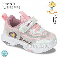 Кроссовки детские Tom.m для девочки р21-26 ( код 7977-00)