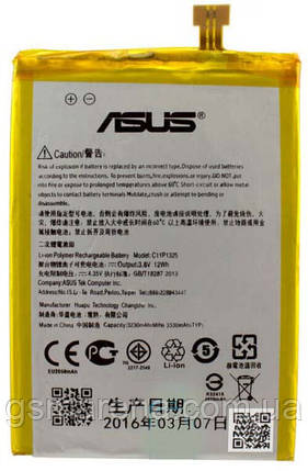 Аккумулятор Asus C11P1325 3330mAh ZenFone 6 A600CG Оригинал, фото 2