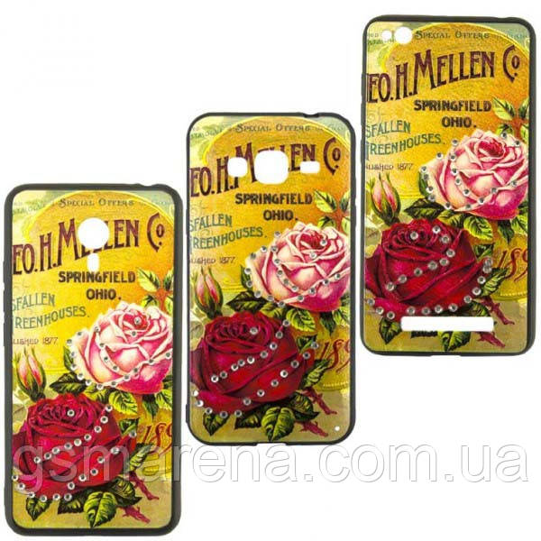 Чехол накладка Flower Case Samsung J3 (2017) J330 Springfield Rose