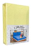 Махровая простынь на резинке 160*200 с наволочками Разные цвета RoYan Турция, фото 4