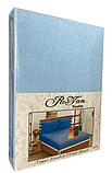 Махровая простынь на резинке 160*200 с наволочками Разные цвета RoYan Турция, фото 7