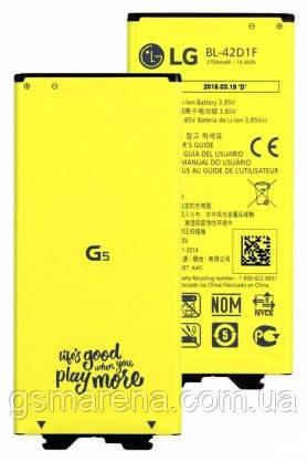 Аккумулятор LG G5 H820 (BL-42D1F), фото 2