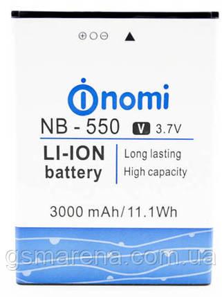Аккумулятор Nomi NB-550, i550, фото 2