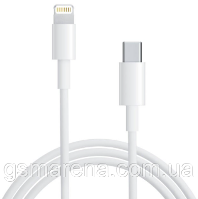 Кабель Combo Type-C - Lightning Apple iPhone 1m Оригинал, фото 2