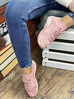 Кроссовки женские 8 пар в ящике розового цвета 36-41, фото 3