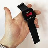 Спортивные часы с LED диспеем. Реагируют на касание. PUMA. Цвет: черный, фото 2