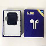 Беспроводные Bluetooth наушники TWS i31-5.0. Цвет: темно-синий, фото 3