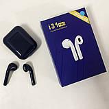 Беспроводные Bluetooth наушники TWS i31-5.0. Цвет: темно-синий, фото 7