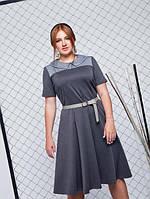 Женское кожаное Платье Эдмонда р. 52,54,56,58