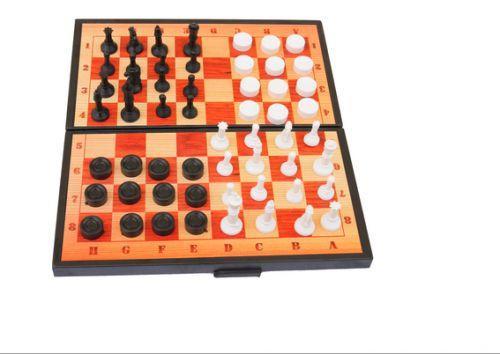 Набор 2 в 1 (шашки и шахматы) 5197