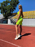 Женский костюм-двойка Lameia Неоново-зеленый, фото 4