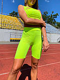 Женский костюм-двойка Lameia Неоново-зеленый, фото 9
