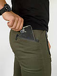 "Котоновые штаны Intruder ""Chesst"" хаки, фото 6"