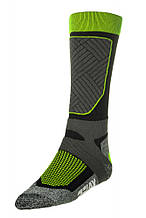 Шкарпетки лижні Relax Compress RS030A Green-Grey