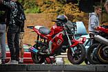 Фара стрит, эндуро, мотард для мотоцикла (Белая), фото 4