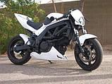 Фара стрит, эндуро, мотард для мотоцикла (Белая), фото 5