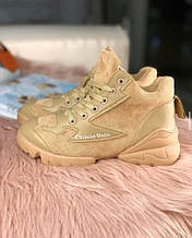 Жіночі черевички діор бежеві