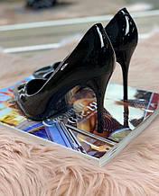 Жіночі Туфлі човники чорні