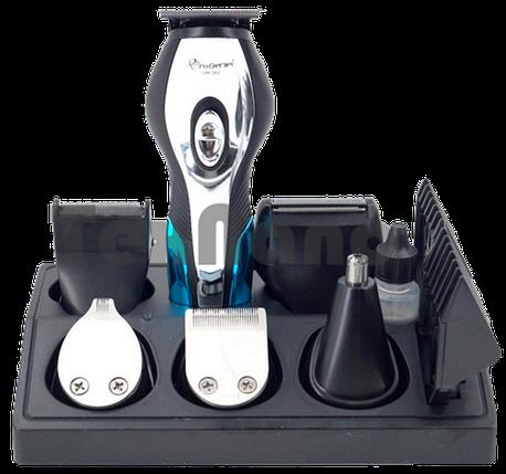 Машинка для стрижки GEMEI GM-562 11 в 1 - Бездротова акумуляторна машинка, тример, бритва Топ, фото 2