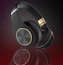 Бездротові навушники JBL T8 - складено Bluetooth-навушники з акумулятором, MP3 плеєром (Репліка), фото 2