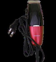 Професійна машинка для стрижки волосся мережева Gemei GM-807 9W 4 насадки Топ, фото 2