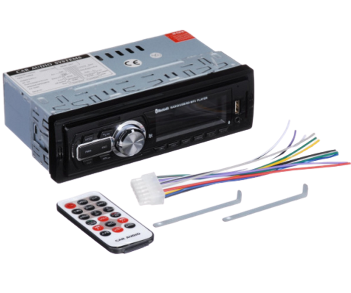 Автомагнитола MP3 Pioneer 5208 ISO 1DIN - автомобильная магнитола c пультом, MP3 Player, FM, USB, SD, AUX Топ