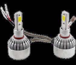 Комплект автомобільних LED ламп C6 H3 - Світлодіодні лампи, Автолампи, Ближнє, дальнє світло, Автосвітло Топ, фото 2