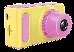 Детский цифровой фотоаппарат Smart Kids Camera V7 Розовый | Детская цифровая камера Топ, фото 3