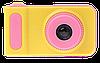 Детский цифровой фотоаппарат Smart Kids Camera V7 Розовый | Детская цифровая камера Топ, фото 5