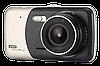 """Автомобільний Відеореєстратор DVR T652 4"""" Full HD 1080p з камерою заднього виду Топ, фото 4"""