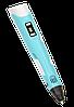3Д ручка c LCD дисплеем 3D Pen-2 - ручка 3D принтер для рисования Синяя Топ, фото 5