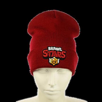 "Детская шапка ""Brawl Stars"" Красная Топ, фото 2"