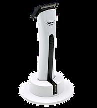 Машинка для стрижки волос Gemei GM-725 - Беспроводная аккумуляторная машинка, триммер бритва для усов и бороды, фото 2