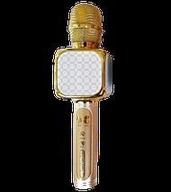 Микрофон караоке YS-69 2 в 1 - беспроводной Bluetooth микрофон - портативная колонка со слотом USB + TF card, фото 2