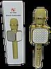 Микрофон караоке YS-69 2 в 1 - беспроводной Bluetooth микрофон - портативная колонка со слотом USB + TF card, фото 6
