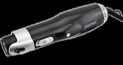 Фен-стайлер для волосся 10 в 1 Gemei GM-4833 - повітряний стайлер, фен-щітка, набір для укладання волосся Топ, фото 3