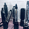 Фен-стайлер для волосся 10 в 1 Gemei GM-4833 - повітряний стайлер, фен-щітка, набір для укладання волосся Топ, фото 5