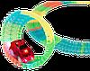 Гоночный трек Magic Tracks 360 деталей - Детский светящийся гибкий автотрек с двумя машинками и мостиком Топ, фото 5