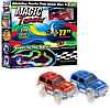 Гоночный трек Magic Tracks 360 деталей - Детский светящийся гибкий автотрек с двумя машинками и мостиком Топ, фото 6
