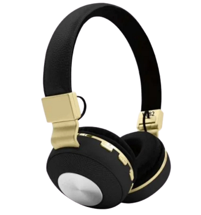 Бездротові навушники JBL V682 - складено Bluetooth-навушники з акумулятором, MP3 плеєром і FM радіо Репліка