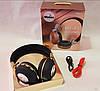 Бездротові навушники JBL V682 - складено Bluetooth-навушники з акумулятором, MP3 плеєром і FM радіо Репліка, фото 2