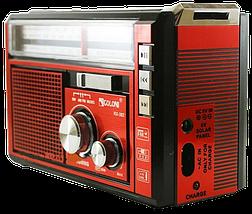 Радіоприймач з ліхтарем Golon RX-381 - Радіо з MP3, USB/SD і LED-ліхтариком Топ, фото 2