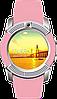 Розумні годинник Smart Watch V8 сенсорні - смарт годинник Рожеві Топ, фото 6