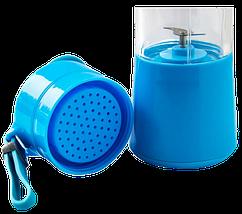 Блендер Smart Juice Cup Fruits USB - Фитнес-блендер портативный для смузи и коктейлей Топ, фото 3